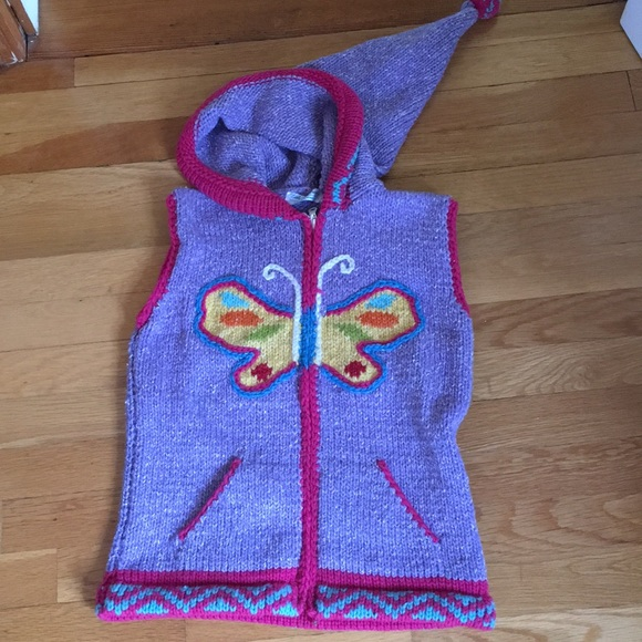 Little Cotton Dress Other - Adorable handmade sweater vest